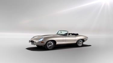 Jaguar Classic E-type Zero production - Front