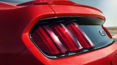 2014 Ford Mustang rear lights