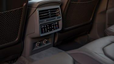 Audi Q8 – rear interior