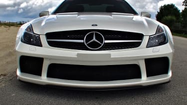 Renntech Mercedes SL65 Black nose