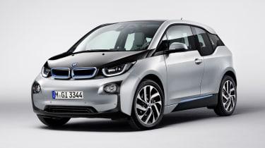BMW i3 silver