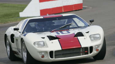 Kenny Brack Goodwood Revival Ford GT40