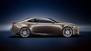 Lexus LF-CC concept side