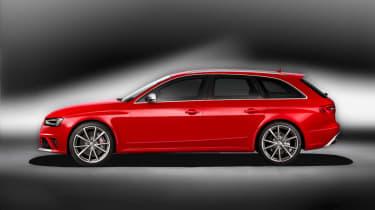 2012 Audi RS4 Avant side profile