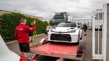 Toyota GR Yaris AP4 - loading