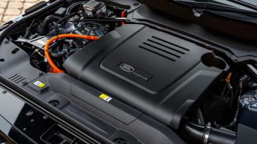 Range Rover P400e PHEV engine