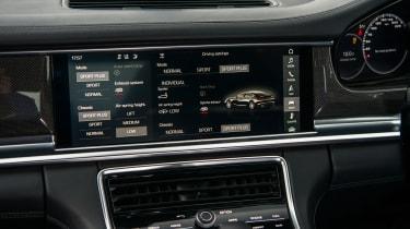 Porsche Panamera Turbo - Centre console