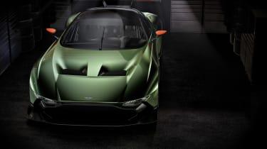 Aston Martin Vulcan - front above