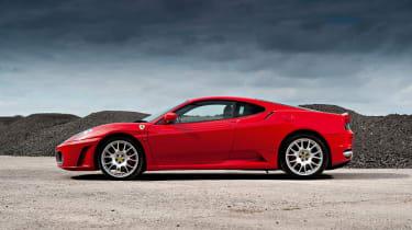 Ferrari F430 F1 side profile