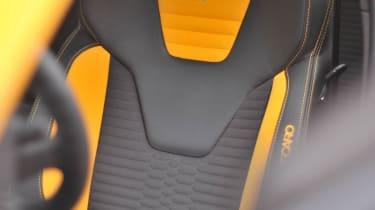 2012 Ford Focus ST orange Recaro seat
