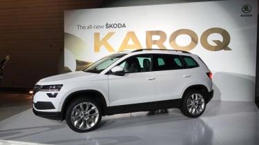 Skoda Karoq - front three quarter