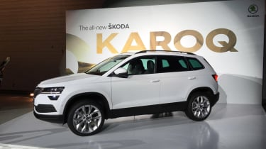 Skoda Karoq - front three quarter