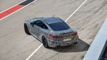 BMW M8 Competition prototype - side