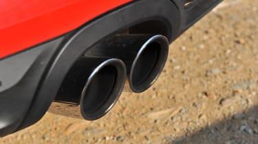 Porsche Boxster S Sports exhaust