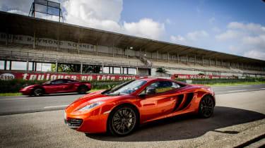 McLaren MP4-12C road trip video