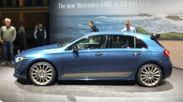 Mercedes-AMG A35 live - side