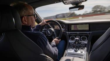 Bentley Continental GT Speed UK – interior driving