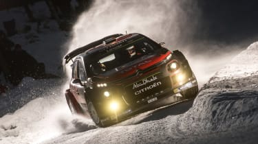WRC C3 night shot