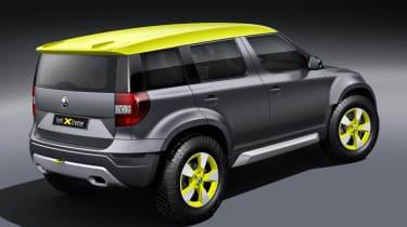 Skoda Yeti Xtreme concept rear