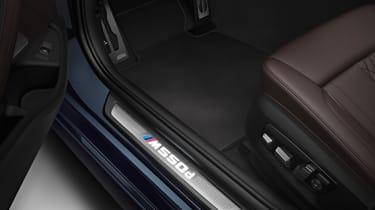 BMW M550d xDrive sills