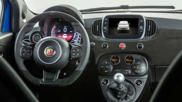 2021 Abarth 595 range - interior