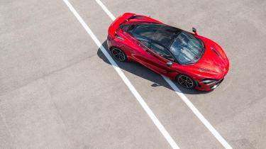 McLaren 720S - above