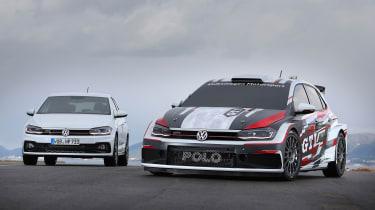 VW Polo GTI R5 and VW Polo GTI