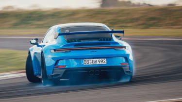 992 Porsche 911 GT3 rear drift
