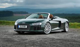 Audi R8 V10 Plus Spyder – front quarter