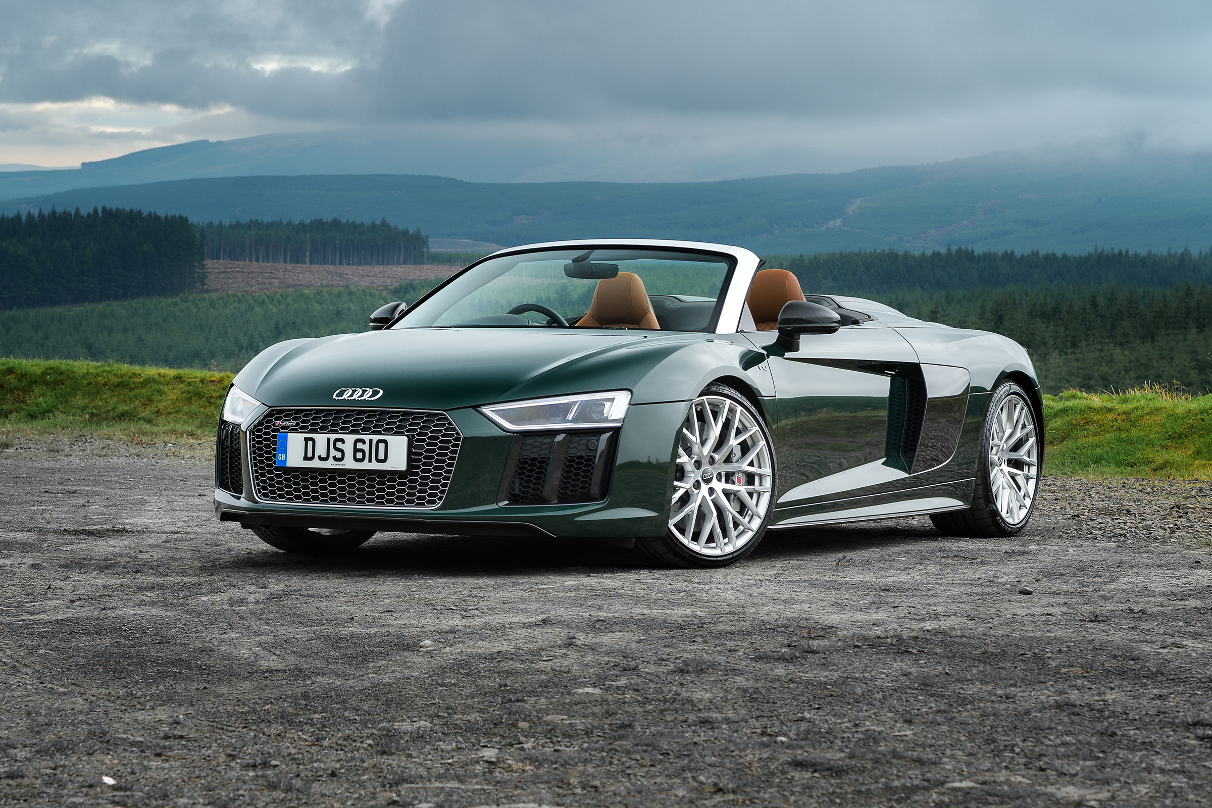 Audi R8 V10 Plus Spyder The Best Open Top Supercar Evo