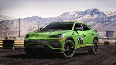 Lamborghini Urus ST-X - front quarter