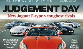 evo Magazine: June 2013 Jaguar F-type ultimate test