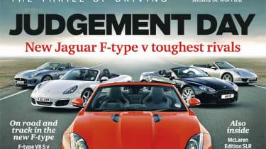 evo Magazine: June 2013 Jaguar F-type ultimate test