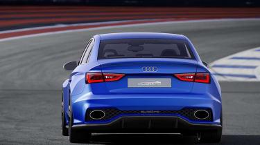 Audi A3 Clubsport quattro blue rear