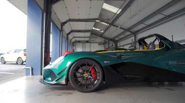 evo Trackday Bedford 27AUG - Ben's Lotus