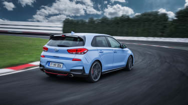 Hyundai i30 N  - rear driving 2