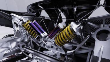 Alpine A110 GTA concept – subframe