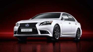 Lexus LS F Sport revealed