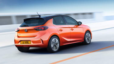 Vauxhall Corsa-e - rear quarter
