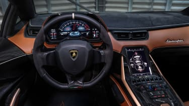 Lamborghini Sian - interior