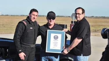 Hennessey Venom GT certificate