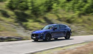 Maserati Levante Trofeo review - side