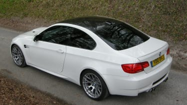 BMW M3 Competition high rear static