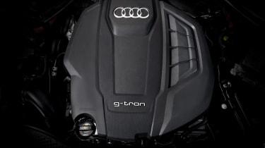 Audi A5 Sportback g-tron engine