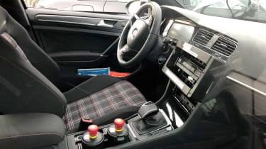 Golf Mk8 mule - inteiorr