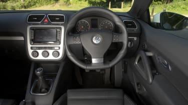 VW Scirocco TSI interior