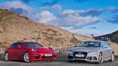 Audi RS7 & Porsche Panamera GTS