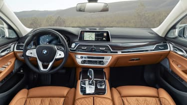2019 BMW 7-series - interior