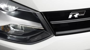 Volkswagen Polo R Line badge