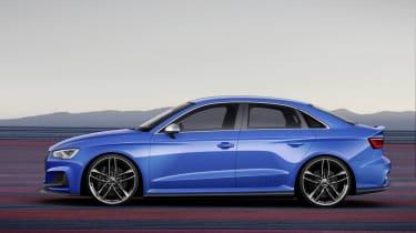 Audi A3 Clubsport quattro previews RS3 saloon